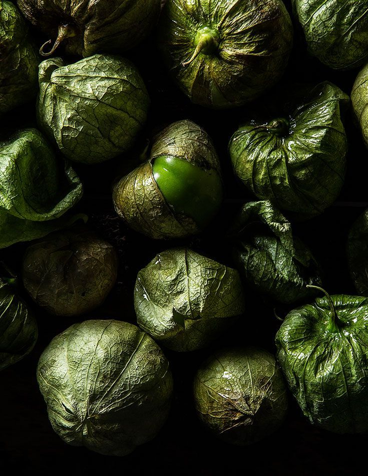 There's nothing like fried green tomatillos. Or fresh ripe tomatillos chopped up and mixed into salsa verde.