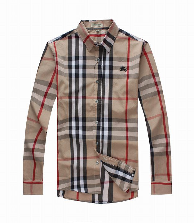 6aab0d26ece Burberry Mens Long Sleeve Shirt