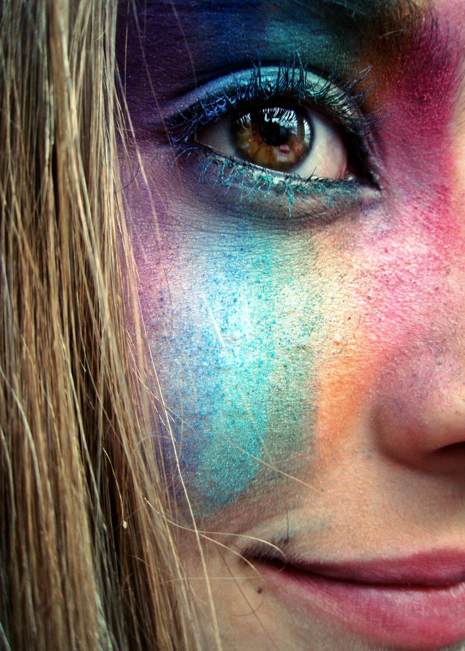 bambiii: Rainbow in your eyes
