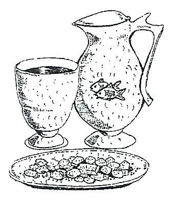 Kleurplaten Eucharistie.Brood En Wijn Heilig Avondmaal