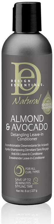 Design Essentials Natural Almond And Avocado Leave In Conditioner
