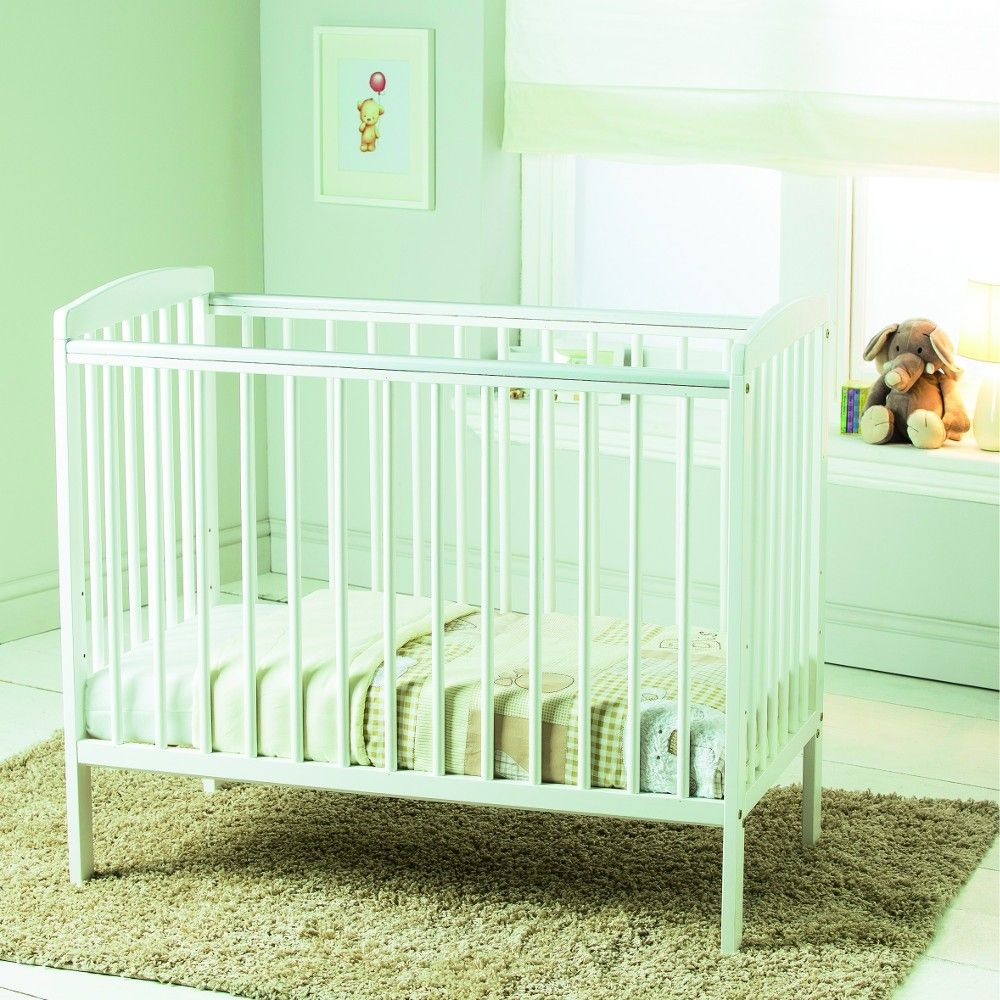 separation shoes 0b16e 69640 Kinder Valley Compact Sydney Space Saver Cot (White ...