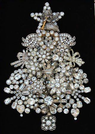 How To Make A Christmas Tree Out Of Jewelry Learning To Do