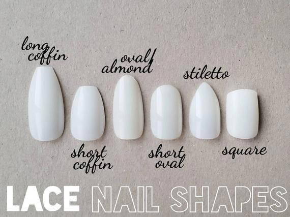Pin By Amber Meyer On Nails In 2020 With Images Glue On Nails Lace Nails Nail Shapes