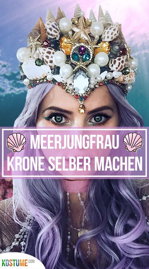 Photo of Meerjungfrau Krone DIY