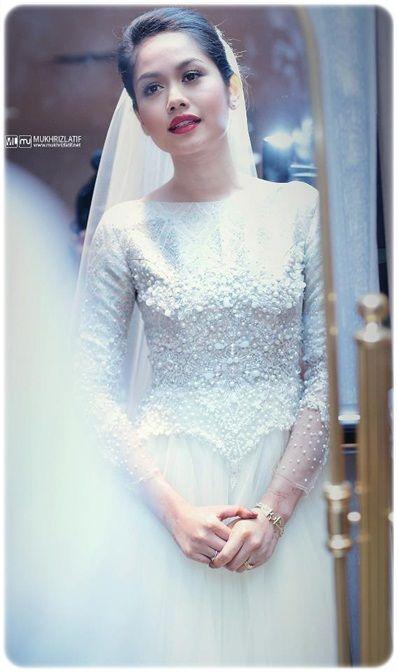 Wedding Dress Malay #songket #modern #malay | Muslim Arab and other ...