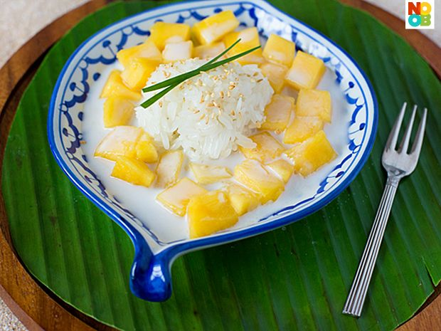 Mango Sticky Rice Recipe | Sticky rice recipes, Mango ...