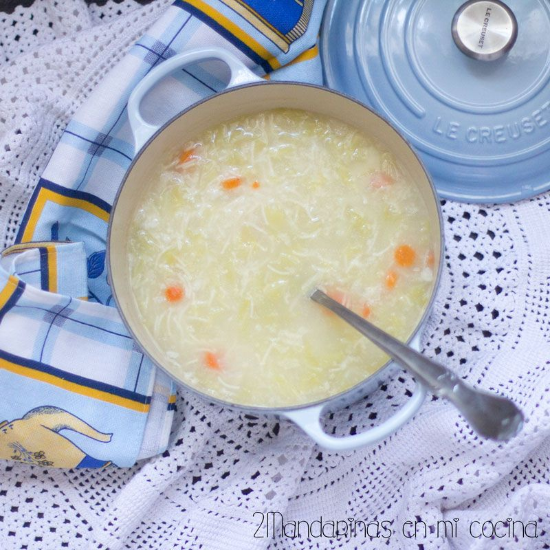 2Mandarinas en mi cocina: Escudella de arroz y fideos. Las mejores recetas d...
