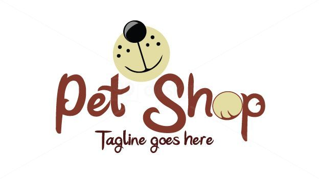 Pet Shop Logo Mas Pet Shop Logo Pet Shop Dog Logo Design