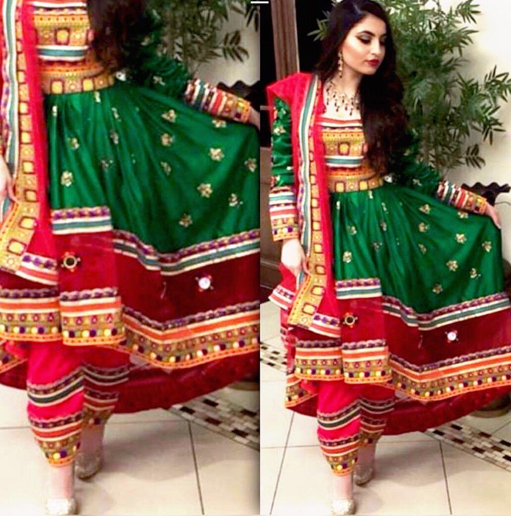 Afghani Style Dress at sajsacouture@gmail.com