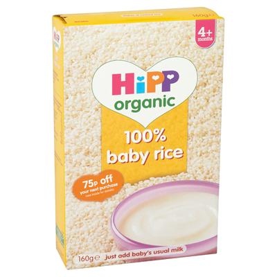 Hipp Organic Baby Rice Cereal - 160g - Organic Munchkin