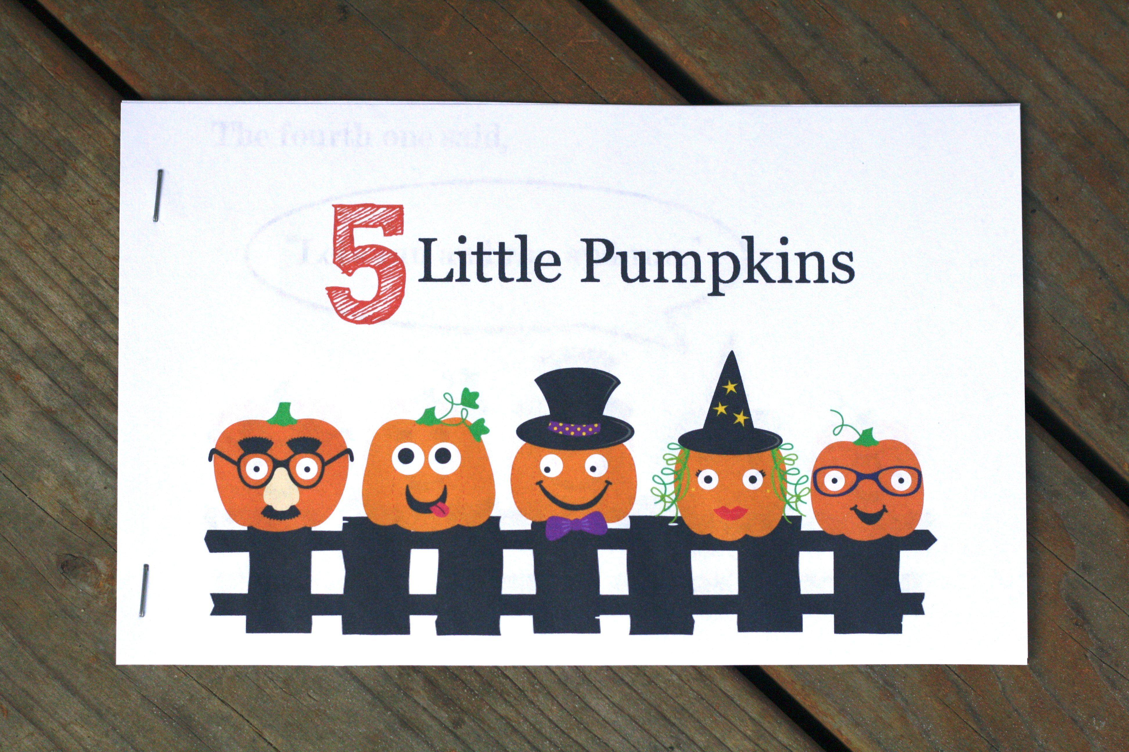 3 Fun Filled Follow Ups To 5 Little Pumpkins Playdough