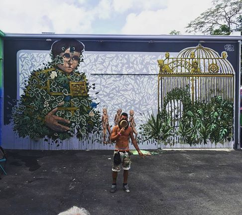 Pixel Pancho for Wynwoodwallsofficial in Miami, Florida, USA, 2016