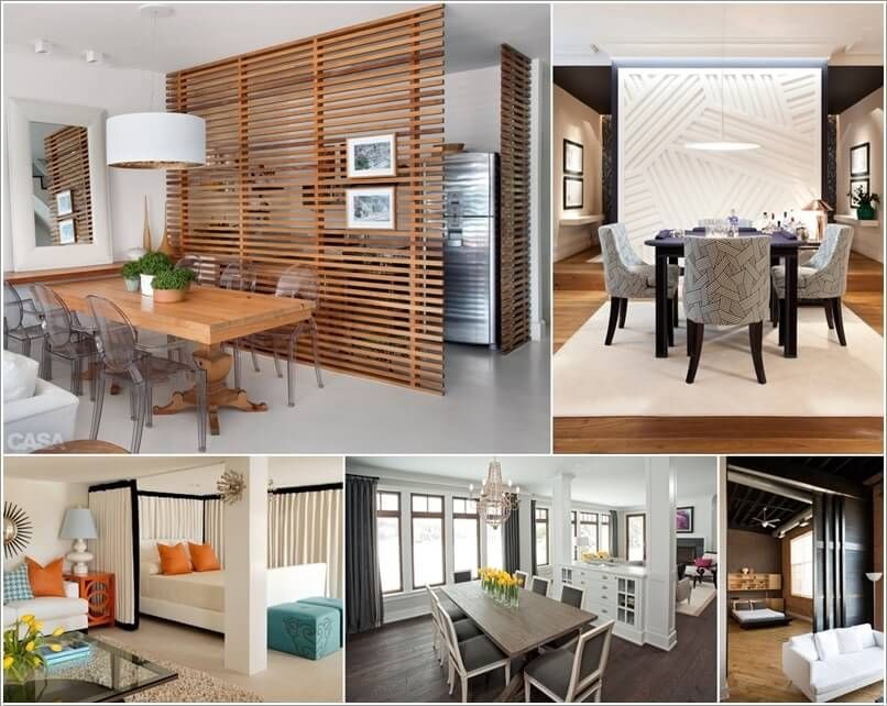 10 Stylish And Cool Room Divider Designs For Your Home Mesmerizing Living Room Divider Design Decorating Design