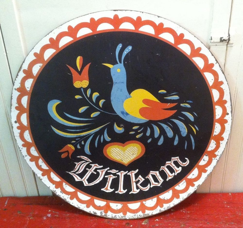 235in across vintage amishpennsylvania dutch wilkom birds of vintage amishpennsylvania dutch wilkom birds of paradise barn hex sign biocorpaavc Images