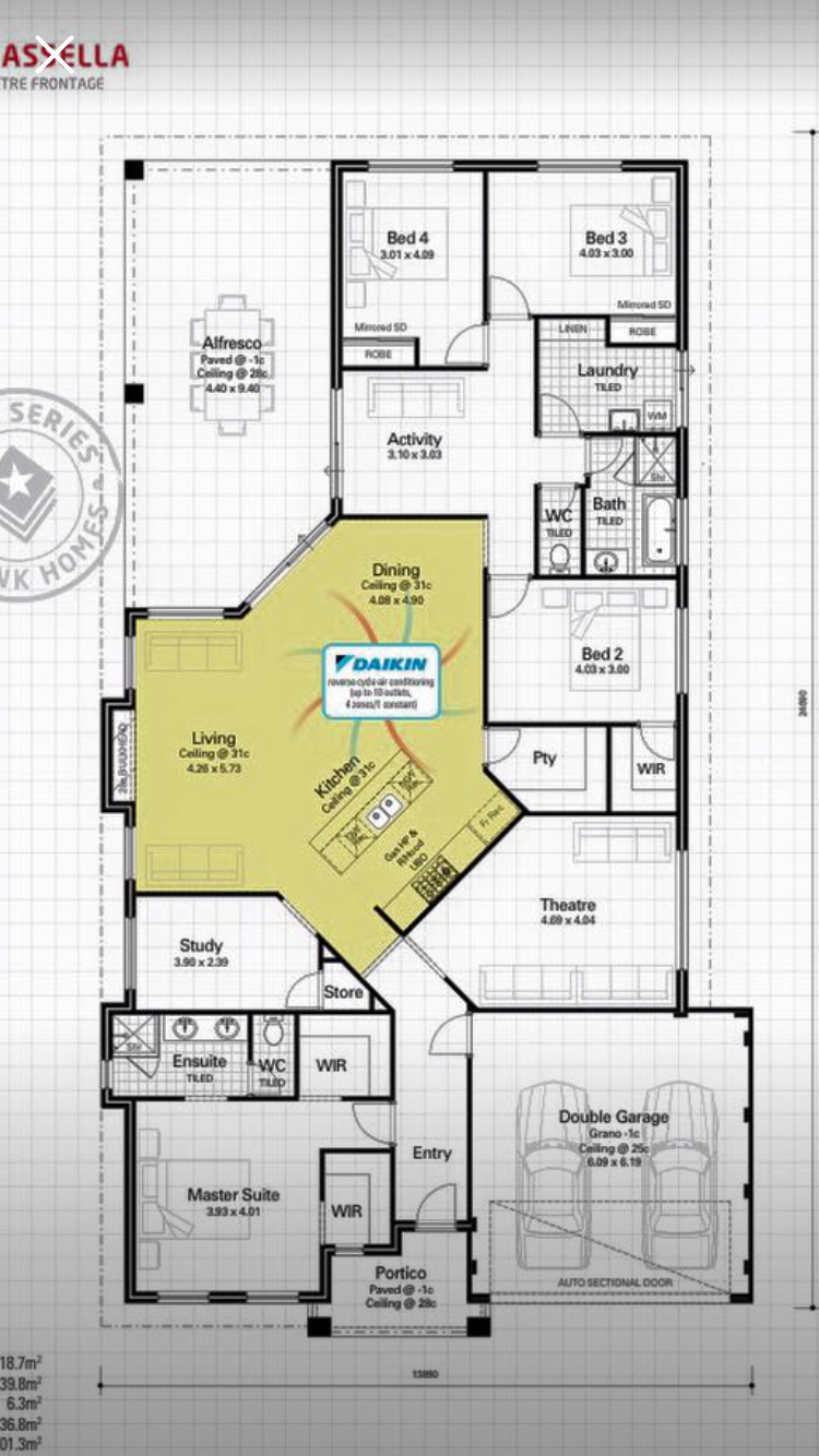 Take Out Study And Expand Master Bedroom And Bathroom Reasonable House Plans Home Design Floor Plans Tiny House Plans