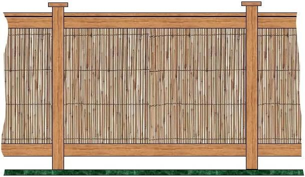 how to build a bamboo fence | How To Make Bamboo Fencing ...