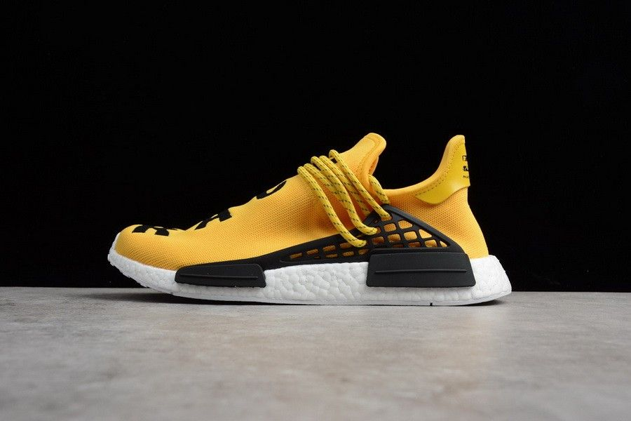 64468416c Purchase Pharrell Williams x adidas NMD HU Yellow White