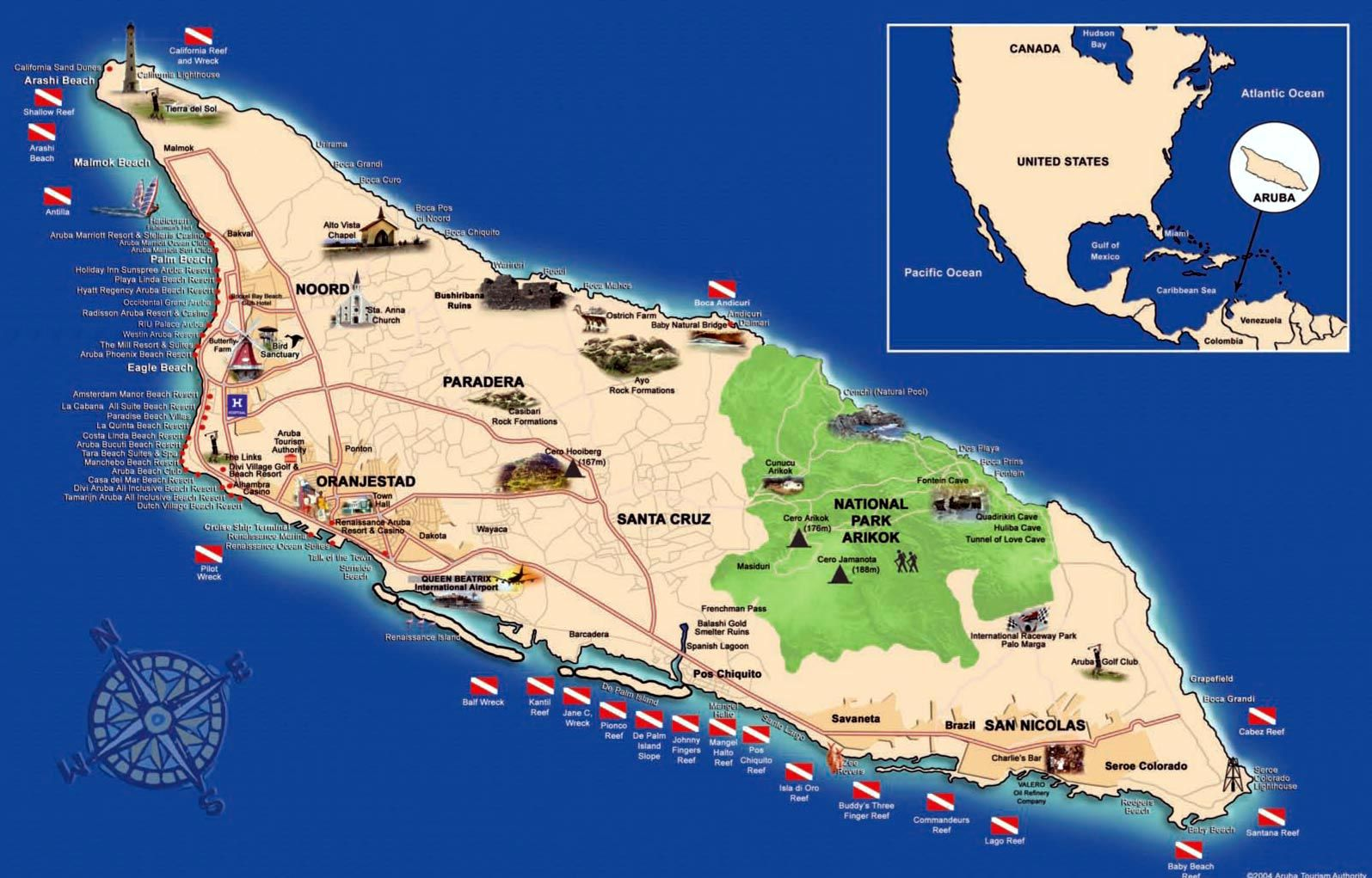 Aruba Kaart Google Zoeken Aruba Travel Aruba Map Tourist Map
