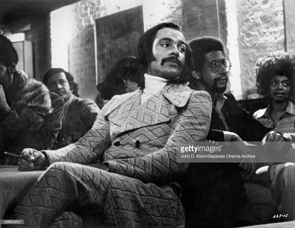 Publicity Portrait Of American Actor Ron ONeal 1937 2004 In The Film Super Fly Warner Brothers 1972