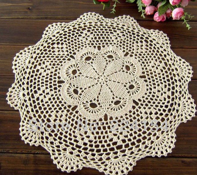 Aliexpress.com : Buy COLOR OPTIONS round crocheted doilies wholesale price for weddings FREE SHIPPING!!! from Reliable wholesale price doilies suppliers on Handmade Shop $9.80