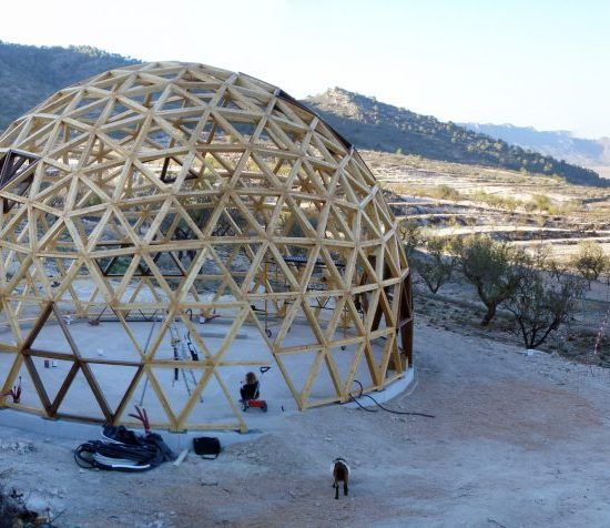 2x6 Heavy Duty Wood Geodesic Hub Kit: Geodesica, Domos Geodesicos