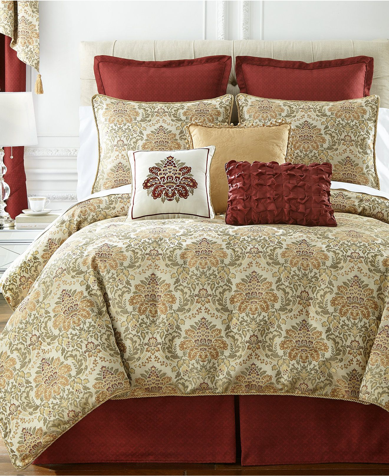 Macy Bedroom Furniture Closeout Closeout Waterford Beaumont Comforter Sets Bedding Collections