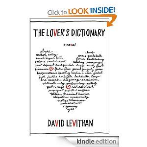 The Lover's Dictionary.