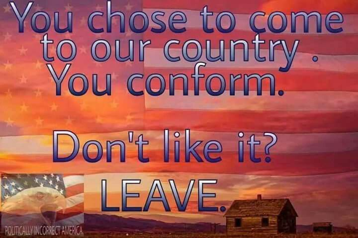 Aaaaaaaaaaamen!!!!!! If you even just travel to any other country, you adapt by learning THEIR language! It shouldn't be ANY DIFFERENT, especially if you're here ILLEGALLY!!!
