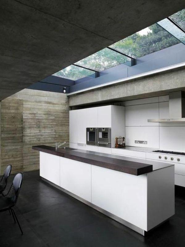 50 Moderne Küchen mit Kochinsel ausgestattet | 우리집 | Pinterest ... | {Küchenblock freistehend mit theke 5}