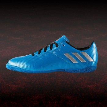 adidas Messi 16.4 IN J Fußball Hallenschuh blau