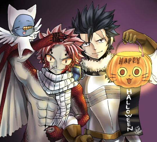 Natsu as Igneel and Gray as Silver, how cute is this ...  Fairy