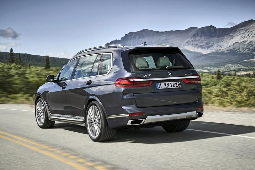 The All New 2019 Bmw X7 Is Bmw S Largest Suv Ever Three Row Suv Packs A Boatload Of High Tech Luxury Driver Assist And Safety Feature Bmw X7 New Bmw Bmw
