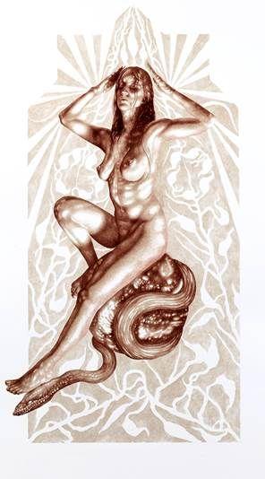 Blood painting  Vincent Castiglia