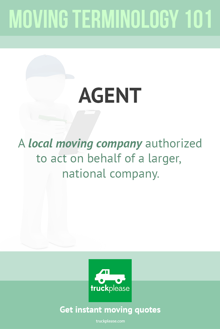 Moving Company Quotes Agenta Local Moving Company Authorized To Act On Behalf Of A