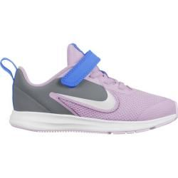 Photo of Nike Boys Toddler Running Shoes Downshifter 9, Size 34 In Iced Lilac / white-Smoke Gray-So, Size 34