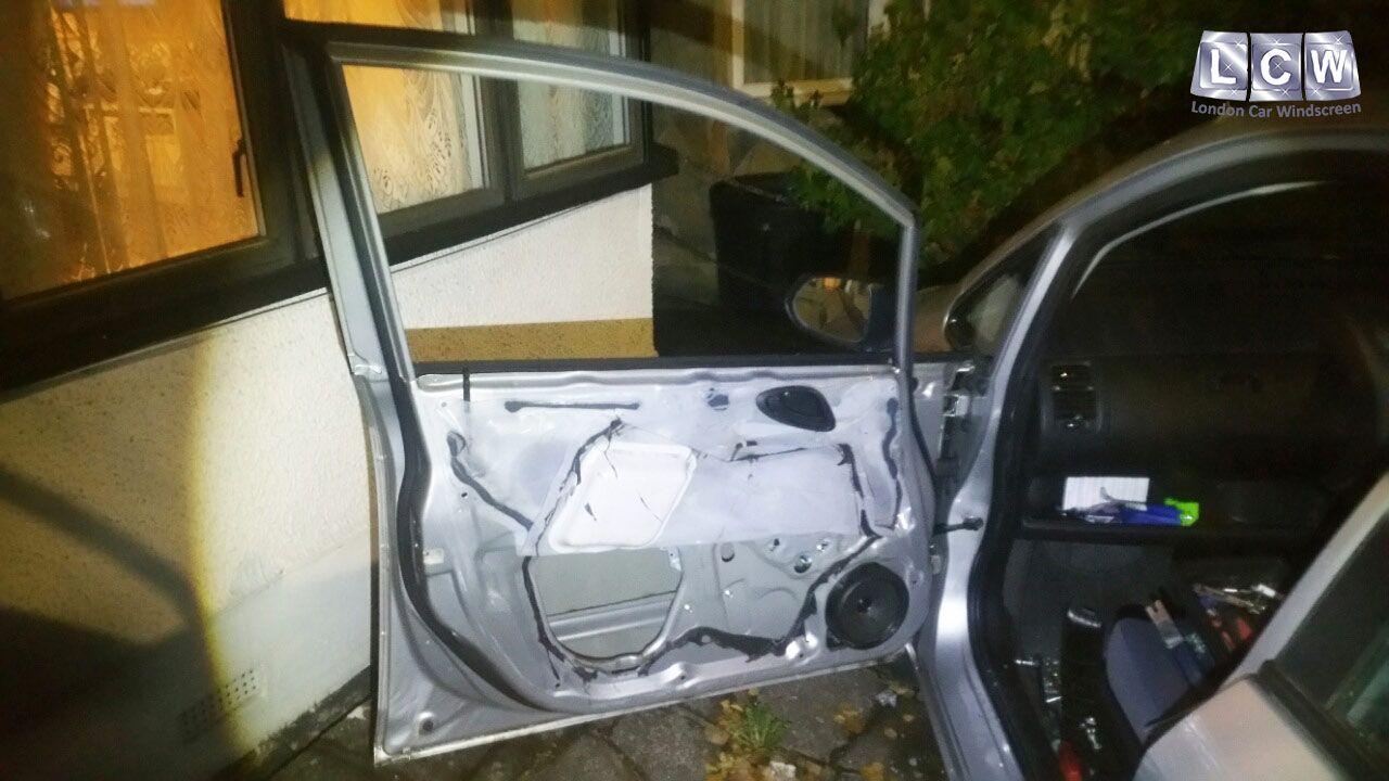 Honda Jazz Front Door Glass Replacement Before Photo Honda Car