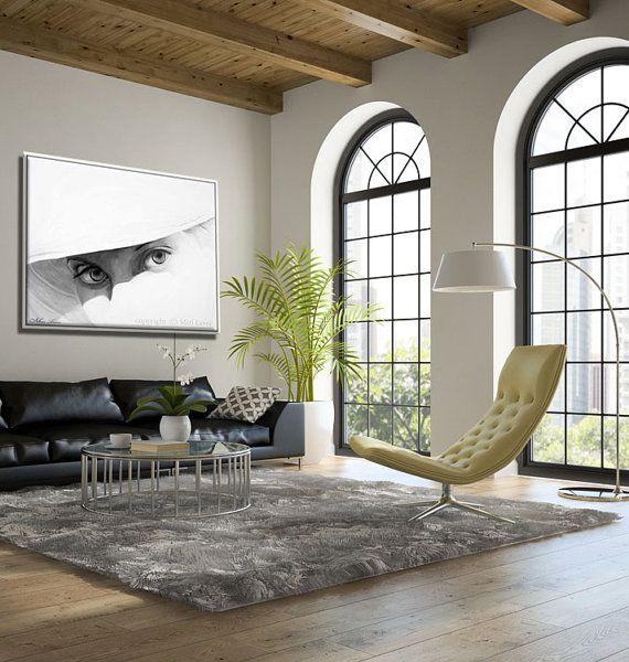 Art Print Large Wall Art, Modern Wall Art, Living Room Art, Portrait