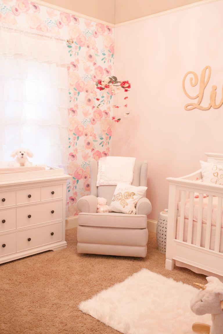 Secret Garden Themed Nursery Project Nursery Pink Baby Room