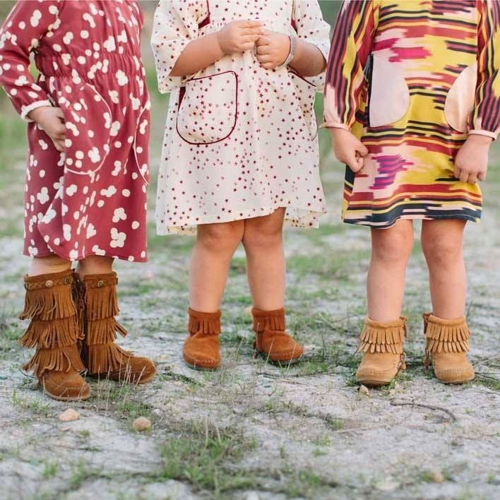 109921ed77eb9 Minnetonka Moccasins For Baby Girls | Cute 4 Kids | Moccasins outfit ...