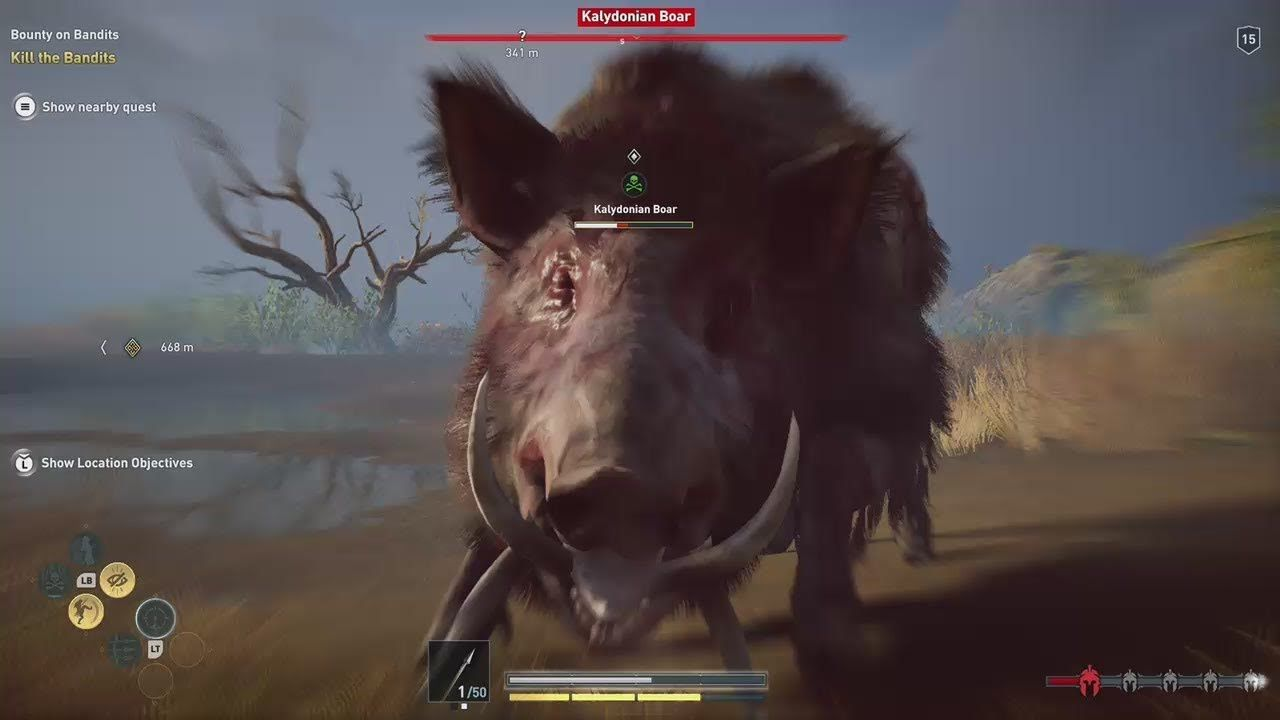 Assassin S Creed Odyssey Daughters Of Artemis Kalydonian Boar