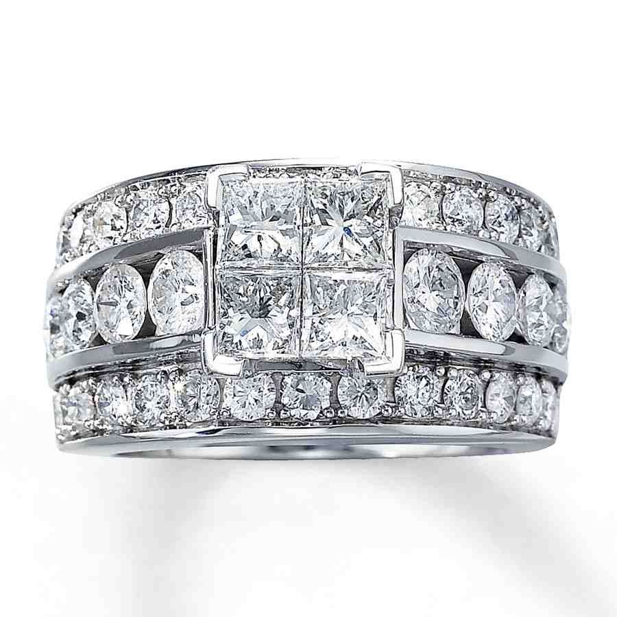 Princess Cut Diamond Engagement Rings Jared I do Pinterest
