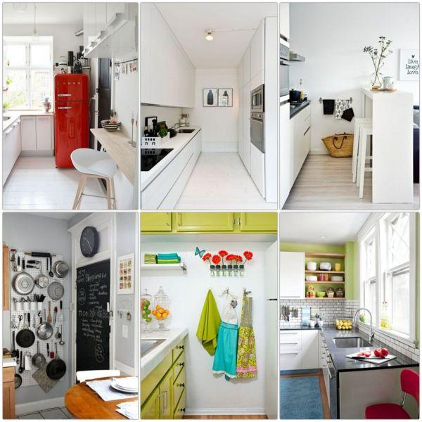 kleine küche einrichten einrichtungstipps | küche | Pinterest ...
