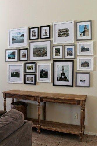The Junk House - Travel Gallery Wall | Wall Art | Pinterest | Travel ...