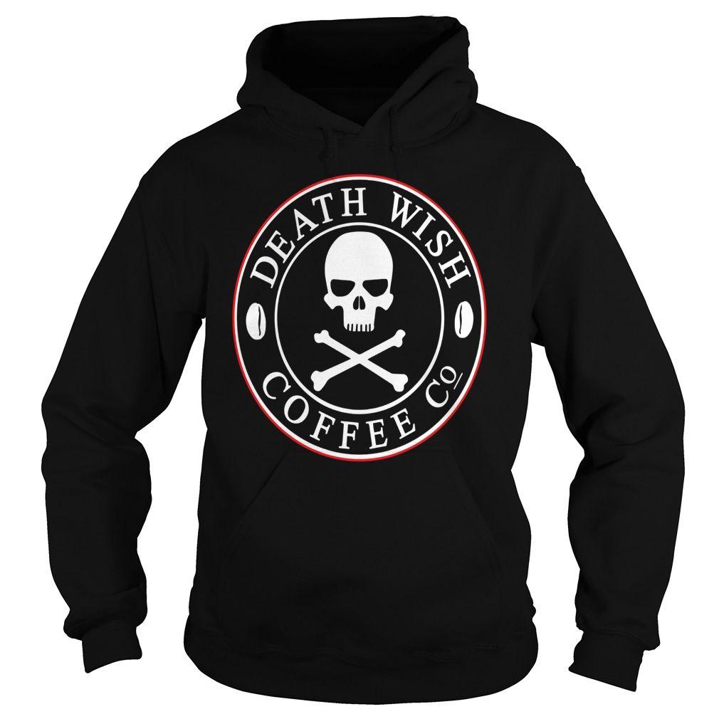 Death wish coffee co logo tshirt funny t shirt hobby t shirt
