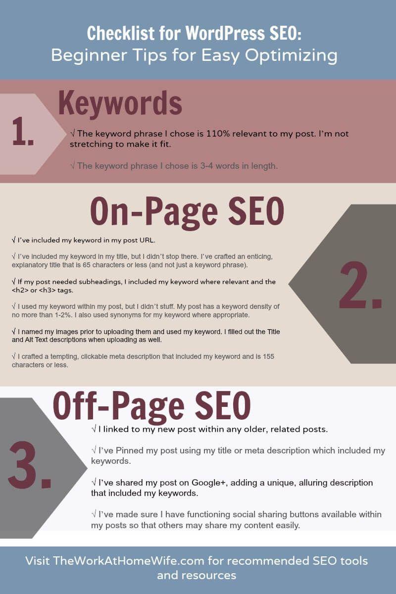 Checklist for WordPress SEO: Beginner Tips for Eas...