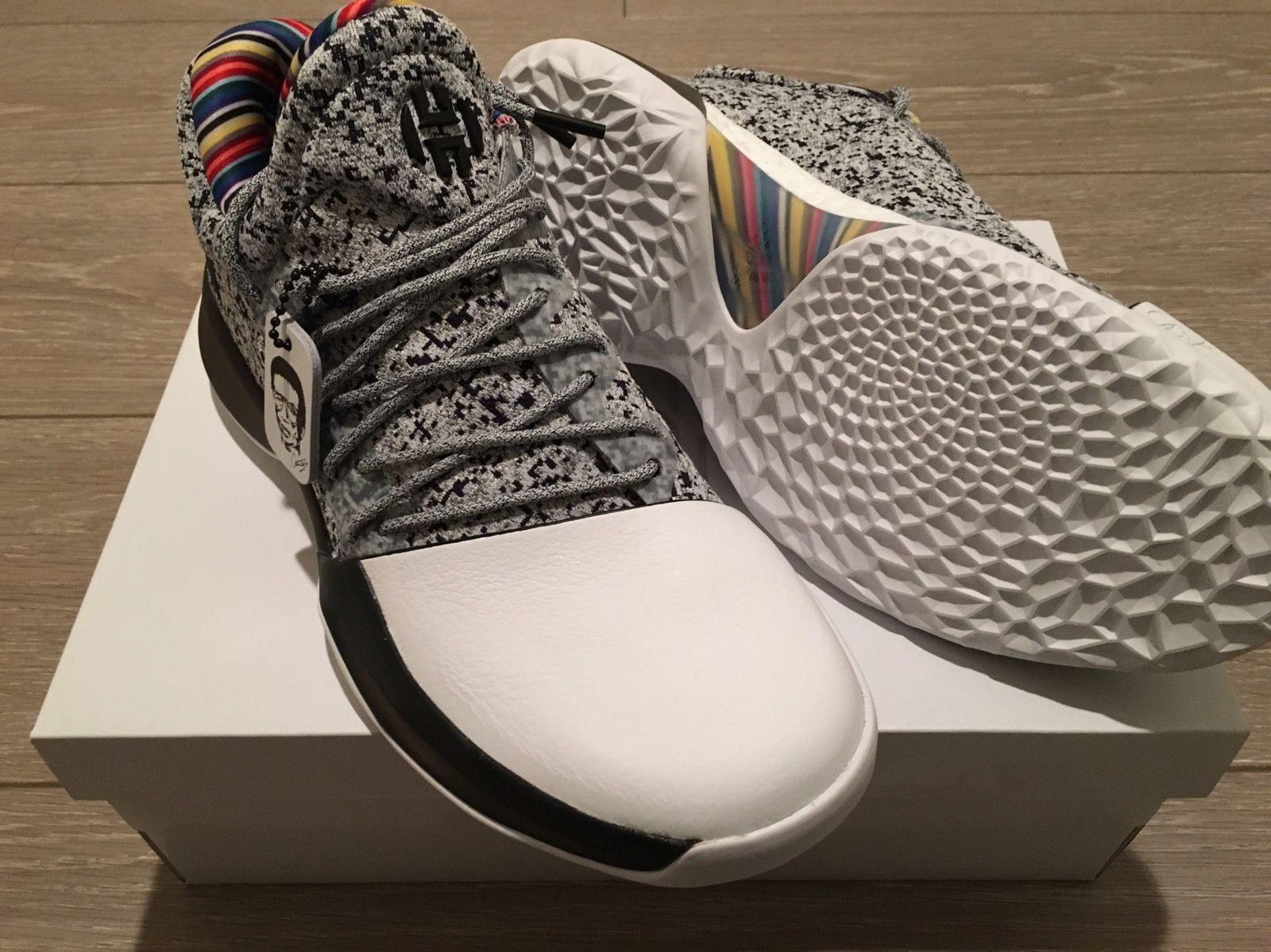Adidas 2017 Harden 1 Shoes James Harden Vol. 1 BHM Arthur Ashe ... b387513cc