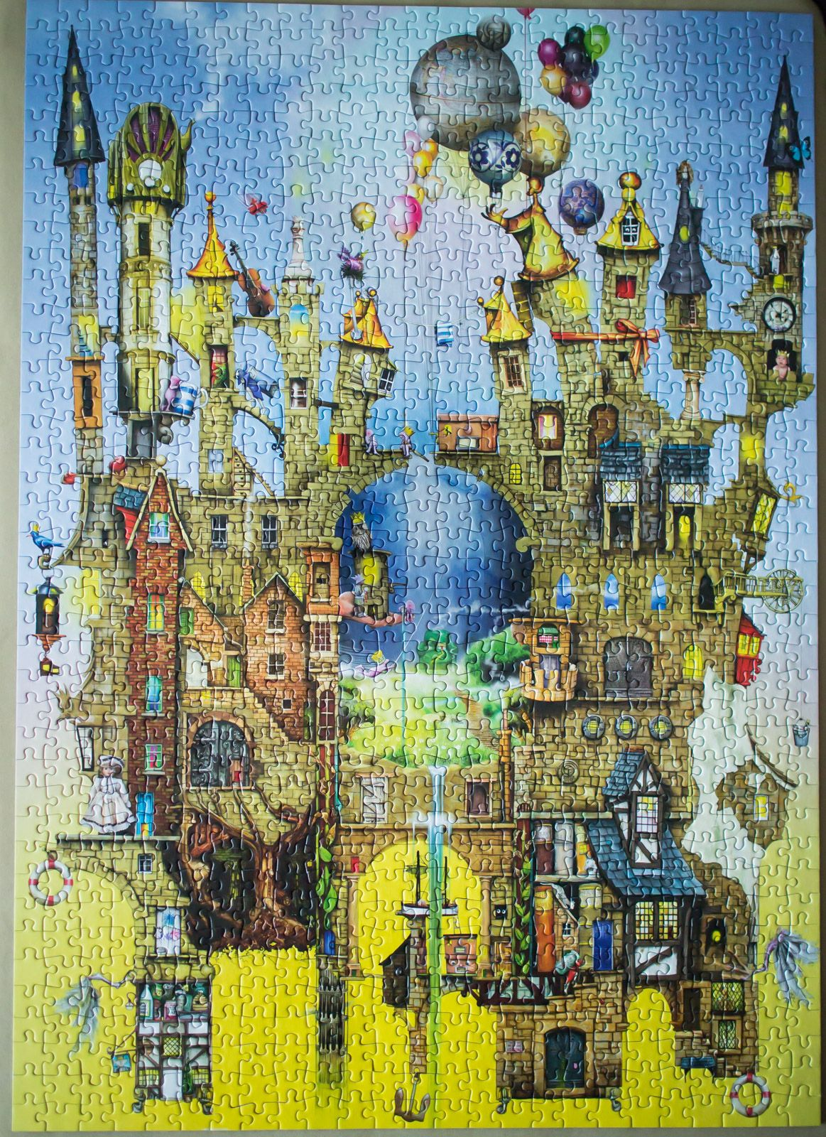 Castle in the air colin thompson schmidt jigsaw puzzle 1000 castle in the air colin thompson schmidt jigsaw puzzle 1000 pieces gumiabroncs Image collections