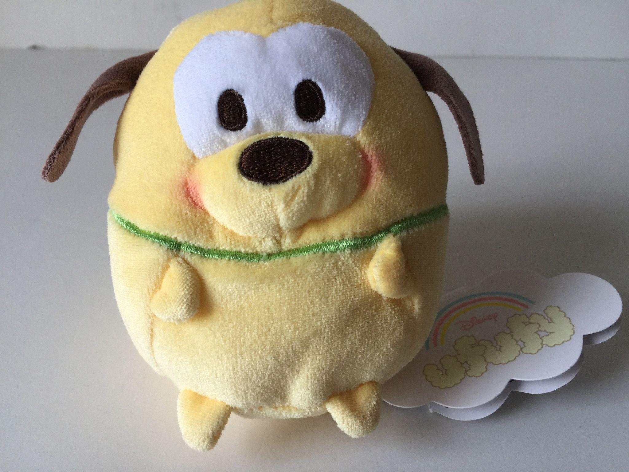 """Disney Store TSUM Mini  Figure Pluto 3.5 /"""" Plush Toy"""