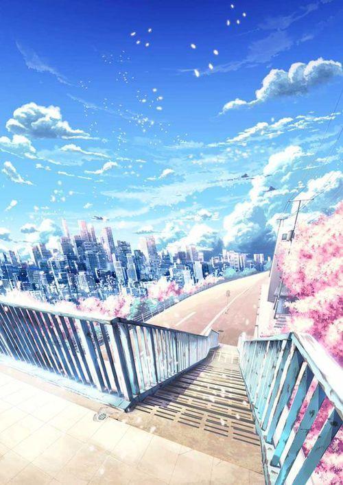 Grafika Anime Art And Scenery